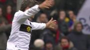 Il fiuto del goal di Crespo porta il Parma in parità a Marassi