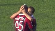 Il Milan cala il poker grazie alla doppietta di Balotelli