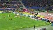 Domizzi a un passo dal goal, la traversa gli nega la gioia in Roma-Udinese
