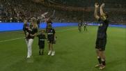 Standing ovation per Javier Zanetti per l'ultima volta a San Siro