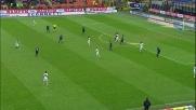 Il diagonale di Mesto è pericoloso ma la palla finisce fuori
