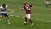 Biava atterra Ambrosini: rigore per il Milan