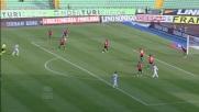 Di Natale con un pò di fortuna segna il goal dell'1 a 0 al Novara