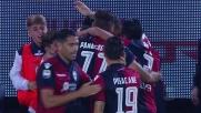 Goal storico di Dessena contro il Palermo