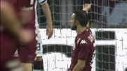 Quagliarella ad un passo dal goal contro il Cagliari