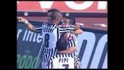 Quagliarella la sblocca al Friuli e realizza il goal del vantaggio dell'Udinese contro il Siena