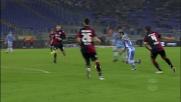 Quarto goal della Lazio contro il Cagliari. Il poker lo firma Felipe Anderson
