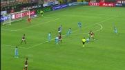 Quasi goal per il Milan ma Reina in volo para il tiro di Balotelli e devia in angolo