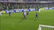 Brocchi taglia in due la difesa della Fiorentina con un colpo di tacco