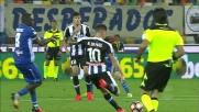 Pelagotti  respinge il tiro di De Paul, niente da fare per l'Udinese