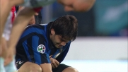 Botta sul braccio per Chivu, costretto allo stop in Lazio-Inter