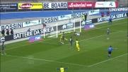 Thereau tutto solo al centro dell'area segna il goal del 2-0 al Livorno