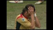 Incornata di Lopez: Cagliari a un soffio dal goal contro la Sampdoria