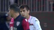 Al Sant'Elia Chochev sfiora il goal di testa