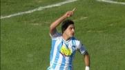 Celik segna il goal che riapre la partita all'Adriatico tra Pescara e Sampdoria