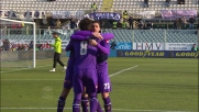 Jovetic segna il primo dei due goal su rigore all'Udinese