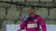 In contropiede l'Empoli va vicino al goal contro il Carpi con un gran tiro di Pucciarelli