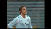 Il goal di Mauri porta avanti la Lazio sulla Sampdoria