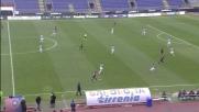 Chiellini diritto sul pallone ferma l'azione del Cagliari