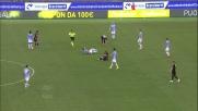 Mchedlidze entra dura in tackle su Biglia: infortunio per entrambi in Lazio-Empoli