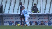 Il Pescara rimane in dieci dopo l'espulsione di Weiss