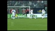 Suazo segna il goal del 2-0 contro la Sampdoria