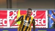 Al Bentegodi il goal di Jankovic spaventa la Roma