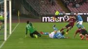 Gabbiadini manca di un soffio la deviazione vincente contro il Milan