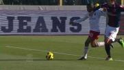 Raddoppio del Milan contro il Bologna: rete di Robinho!