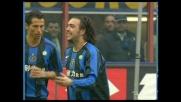 Raddoppio di Recoba! L'Inter si porta sul 2-0 contro la Lazio