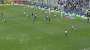 Radu vicino al goal di testa in Parma-Lazio