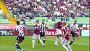 Ranegie beffa la difesa del Milan e il suo goal porta in vantaggio l'Udinese