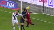 Ranocchia salva la porta dell'Inter sul tiro di Allan