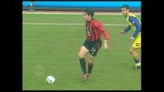 Kakà sfiora il goal contro il Chievo con un tiro d'esterno