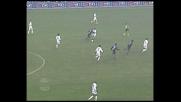 Recoba col suo sinistro segna al Modena per il vantaggio nerazzurro