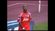 Reginaldo spaventa la Lazio all'Olimpico ma il suo tiro finisce fuori