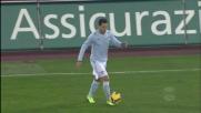 Controllo impeccabile di Zarate contro la Juventus