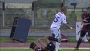 Morimoto perde la testa in Cagliari-Catania e viene espulso