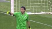 Marchetti sbaglia completamente il rinvio e regala palla all'Empoli