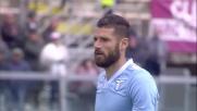 Rigore perfetto di Candreva che chiude il match Livorno-Lazio
