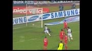 Rimpallo fortunoso, Di Natale segna il goal della doppietta al Cagliari