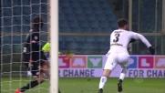 Rispoli, deviazione vincente per il 3-3: pareggia il Palermo!