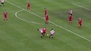 Rivas esce con l'elastico dal raddoppio in Bari-Palermo