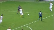 Rivas sgambetta Lucio: calcio di rigore per l'Inter contro il Bari