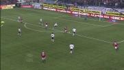 Robinho segna il goal con un diagonale preciso ed il Milan cala il tris