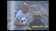 Rocchi realizza il goal della bandiera per la Lazio contro il Bologna