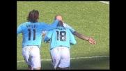 Rocchi segna il goal del 2-0 contro la Reggina all'Olimpico