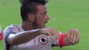 Roma vicinissima al goal a Cagliari, ma Florenzi sbaglia di testa
