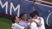 Ronaldinho segna il goal dell'1-0 a Lecce