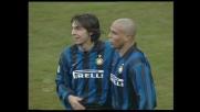 Ronaldo segna nella goleada dell'Inter col Venezia a San Siro